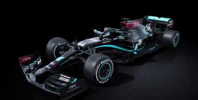 Mercedes F1 vestirá de negro para la temporada 2020