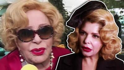 Silvia Pinal aclara el rumor de que repartió su herencia en vida (e Itatí Cantoral le pide su parte)