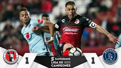 Xolos elimina a Motagua y se mete en cuartos de final de la Liga de de Campeones de Concacaf