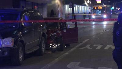 Dos hombres heridos tras tiroteo y accidente automovilístico en La Villita