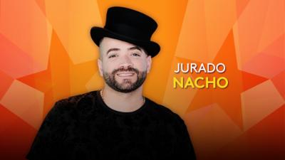Nacho, juez en Pequeños Gigantes