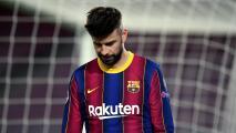 Vestuario de Barcelona está hundido anímicamente tras goleada