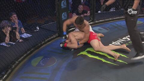 ¡K.O.! Gustavo López vence en el primer round