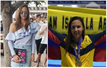 Isabella Arcila, la reina de la natación en los Juegos Centroamericanos 2018