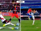 La lesión de Exequiel Palacios, a lo Neymar, tiene historia