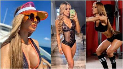 El mundo fitness en Colombia se adorna con la venezolana Majo Media