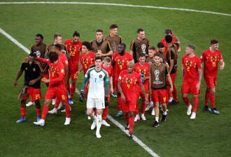 """La """"selección africana"""" en semifinales jugando por Francia y Bélgica"""