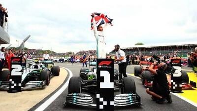 Hogar, dulce hogar: Hamilton se lleva el Gran Premio de Gran Bretaña