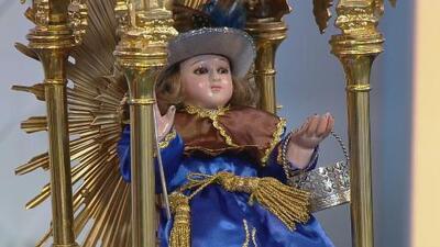 La imagen peregrina del Santo Niño de Atocha visita la ciudad de Santa Paula