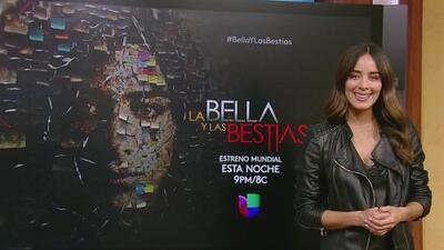 Esmeralda Pimentel cuenta detalles de La Bella y Las Bestias, la nueva producción de Univision