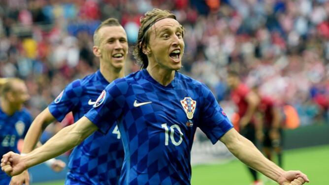 Leyenda: Luka Modric logrará nueva marca este sábado con Croacia