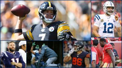 Lesiones que han dejado sin temporada a jugadores de la NFL