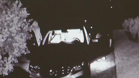 Revelan imágenes de dos presuntos ladrones de autos en South Miami