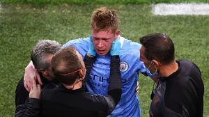 Kevin de Bruyne sufre doble fractura en la cara