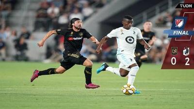 LAFC sin Carlos Vela perdió el invicto en casa ante golazos de juvenil de Minnesota