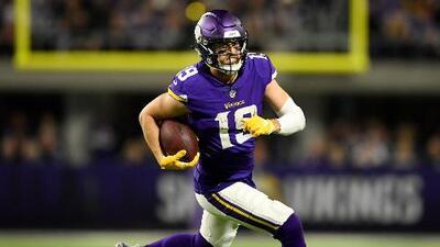 Más que merecido: Vikings extienden al WR Adam Thielen