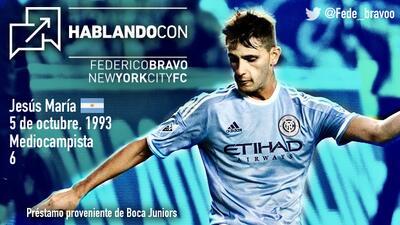HABLANDO CON | Federico Bravo, el escudo del New York City FC