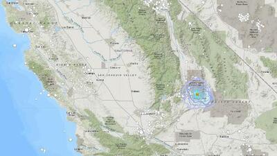 Temblor de mediana magnitud sacude a la localidad de Ridgecrest a cuatro meses de los fuertes sismos