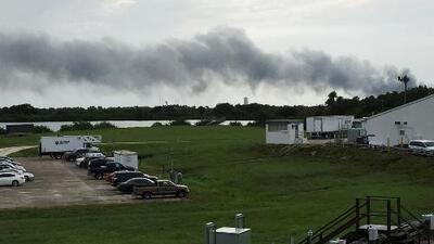 Exploración espacial sufre duro golpe con la explosión de cohete Falcon 9 de Space X en Cabo Cañaveral