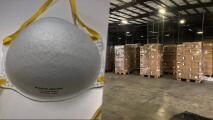 Decomisan cubrebocas falsificados de China en Houston