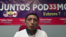 Walther Sinche, el líder comunitario que busca representar a inmigrantes ecuatorianos en EEUU y Canadá