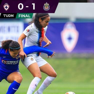 Resumen | Chivas logró la victoria de 0-1 ante Cruz Azul en La Noria