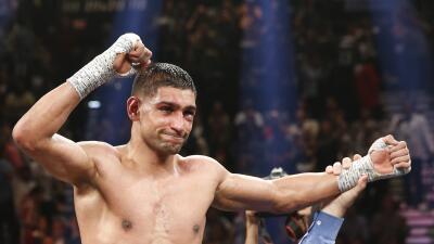 Amir Khan: 'No pelearé con Manny Pacquiao'