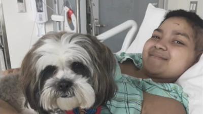 """""""La niña necesita a su mamá"""": madre dominicana ruega por visa para cuidar a su hija con cáncer"""