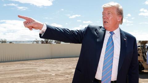 Trump criticó a un juez que no existe por una ley migratoria, pero ese no fue su único error en la frontera
