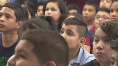 Alumnos de escuela primaria de Nueva Jersey tuvieron su primera experiencia política