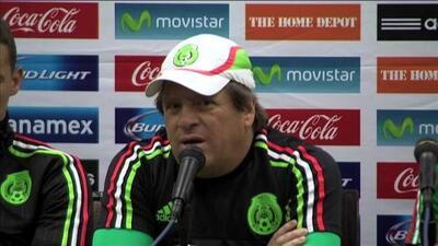 Miguel Herrera: ''La base que dejó el Mundial es la que irá la Copa Oro''