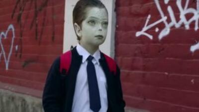 Niño 'alien', símbolo de la campaña contra el 'bullying'