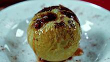 Manzanas horneadas con canela