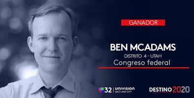 Ben McAdams se proyecta ganador del distrito 4 para la cámara baja por Utah, según informa AP