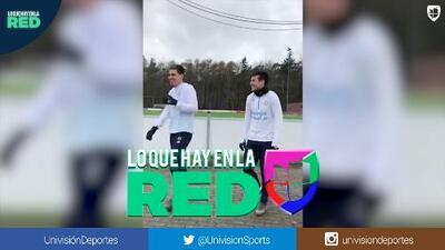¿Qué traman muchachos?: Así de sonrientes llegan los mexicanos del PSV a entrenar