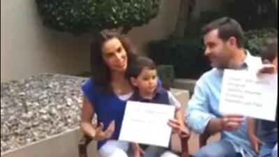 ¿Estás siguiendo a los verdaderos? Bibi Gaytán y Eduardo Capetillo reivindican sus redes sociales con este video