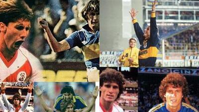 Jugadores que han vestido la camiseta de Boca Juniors y River Plate