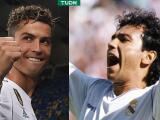 Hugo Sánchez asegura que cuando jugó en el Madrid era como CR7