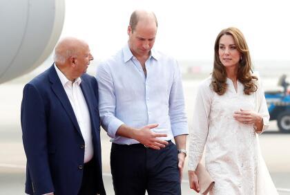el principe william y kate middleton pasan el susto de sus vidas durante un vuelo en pakistan famosos univision william y kate middleton pasan el susto