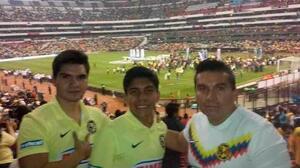 La joya de Pumas que debutó con gol era aficionado de América