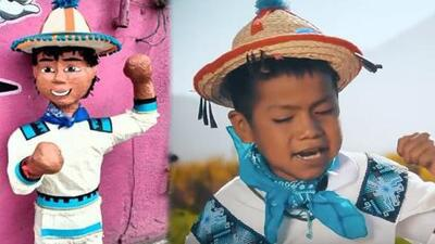 La piñata del niño de Movimiento Naranja ya está aquí