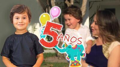 Satcha Pretto celebra los 5 años de Bruce: así es cómo ha visto crecer a su varoncito