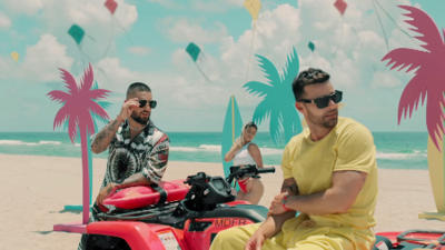 """Maluma and Ricky Martin team up in """"No Se Me Quita"""" music video"""