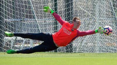 El portero alemán Marc Ter Stegen renueva con el Barça hasta el 2022