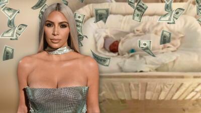 Tiene dos semanas de nacido y Psalm West ya comenzó los negocios en el imperio Kardashian