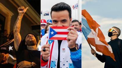 #RickySeFue  Celebridades puertorriqueñas que celebraron la renuncia de Rosselló
