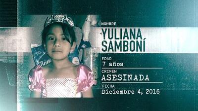 La Huella de un Crimen: Yuliana Samboní, la niña que fue raptada, violada y asesinada por un millonario