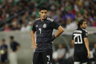 En fotos: el agridulce partido de Raúl Jiménez contra Costa Rica en la Copa Oro