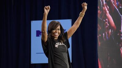 Michelle Obama: la nueva reina de Snapchat