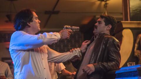 Marco de la O terminó en el hospital después de grabar un tiroteo con los Avendaño en la serie